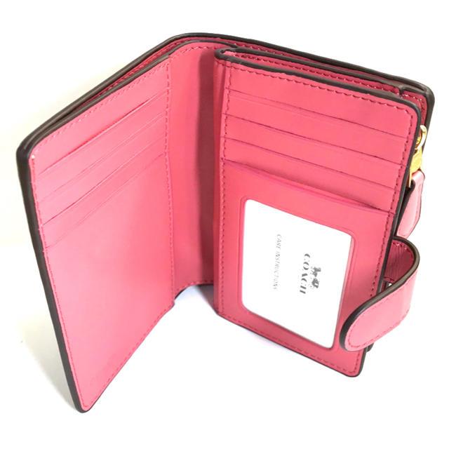 COACH(コーチ)のコーチ COACHベージュのシグネチャーフローラル可憐な花柄の折財布 レディースのファッション小物(財布)の商品写真