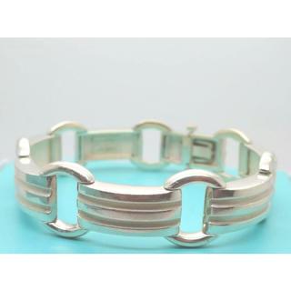 Tiffany & Co. - Tiffany&co. Atlas Groove Link Bracelet