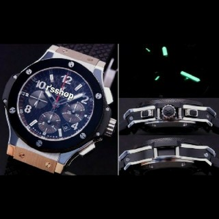 HUBLOT - H製 BIG SS 4100 Black Dial 自動巻修理用部品