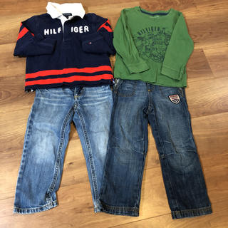 TOMMY HILFIGER - トミーヒルフィガー 4点セット キッズ 3T 男の子