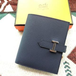 Hermes - エルメスベアン コンパクト二つ折り財布(小銭入れあり) エプソン