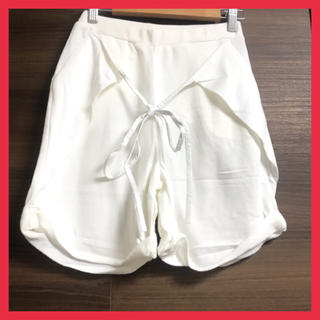 GYDA - 【新品】 ジェイダ ハーフパンツ ホワイト フリーサイズ