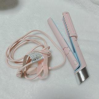 お出かけ用 USBストレートヘアアイロン(ヘアアイロン)