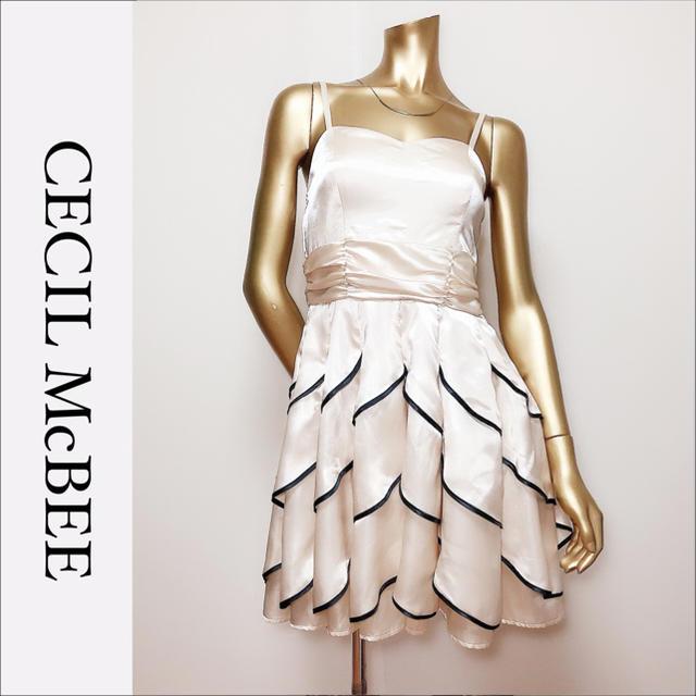 CECIL McBEE(セシルマクビー)のCECIL McBEE ミニ ドレス ワンピース*アンクルージュ an レディースのフォーマル/ドレス(ミニドレス)の商品写真