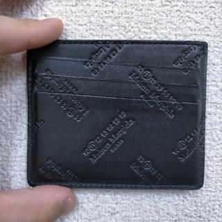 Maison Martin Margiela - レア商品】メゾンマルジェラ カードケース(ブラック)