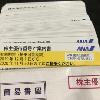 ANA 株主優待券 4枚