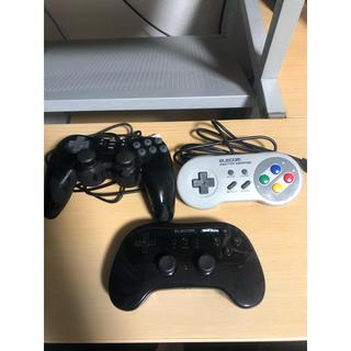 【ほぼ新品】USBゲームコントローラー3台