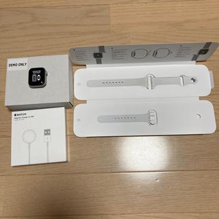 Apple Watch - Apple Watch  series4 GPS 40mデモ品番