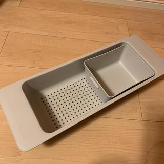 イケア(IKEA)のIKEA 水切りトレー ボウル(調理道具/製菓道具)
