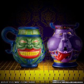 バンダイ(BANDAI)の遊戯王 強欲な壺マグカップ&貧欲な壺湯呑(グラス/カップ)