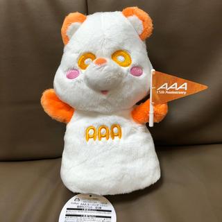 AAA え〜パンダ 15th旗持ちパペット 橙