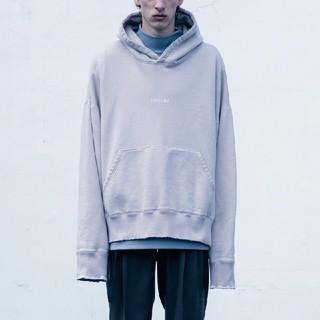 1LDK SELECT - stein OVERSIZD REBUILD SWEAT LS hoodie S