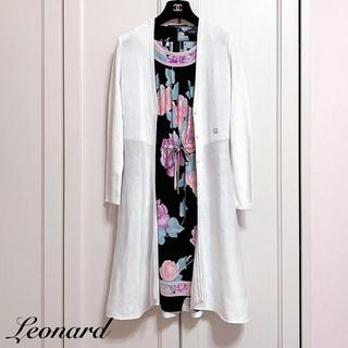 LEONARD - 【LEONARD】ロングカーディガン