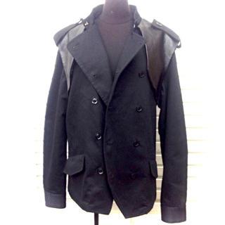 リミフゥ(LIMI feu)のリミフゥ デザインジャケット(ライダースジャケット)
