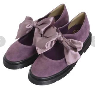 メリージェニー(merry jenny)のリボン シューズ(ローファー/革靴)