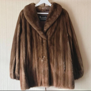 Lochie - vintage ミンク リアルファーコート boudoir