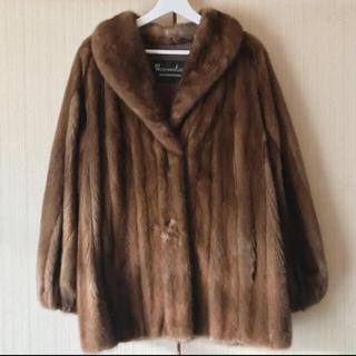 ロキエ(Lochie)のvintage ミンク リアルファーコート boudoir(毛皮/ファーコート)