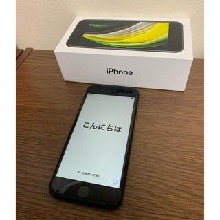 Apple - iPhone SE 2 128GB BLACK SIMフリー