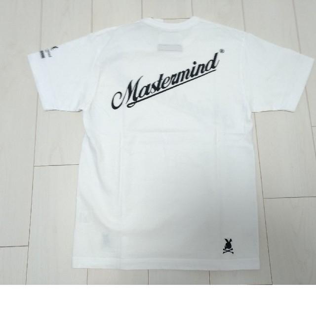 NEIGHBORHOOD(ネイバーフッド)の新品未使用◇ネイバーフッド マスターマインドジャパン コラボ Tシャツ 白 M メンズのトップス(Tシャツ/カットソー(半袖/袖なし))の商品写真
