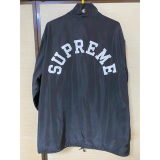 Supreme - supreme チャンピオン アーチロゴ ハーフジップパーカー XL