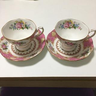 ロイヤルアルバート(ROYAL ALBERT)のカップ&ソーサー【2点セット】(食器)