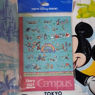 Disney - 新商品 スケジュール帳 Campus