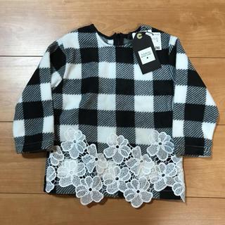 フタフタ(futafuta)の新品✴バースデイ☆トップス90(Tシャツ/カットソー)
