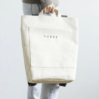 THREE - three トートバッグ 【限定品】