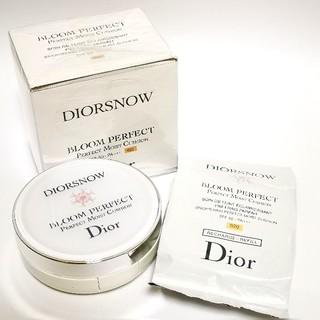 ディオール(Dior)の【Dior】 ディオール スノー ブルーム パーフェクト クッション 020(ファンデーション)
