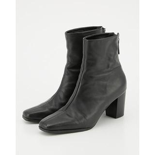 Ameri VINTAGE - RIM.ARK ブーツ 牛革 Mサイズ ブラック シンプル