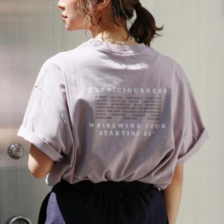 アングリッド(Ungrid)のバックロゴルーズtee(Tシャツ(半袖/袖なし))
