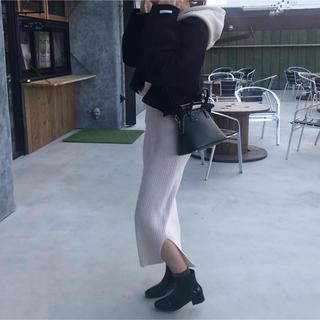 トゥデイフル(TODAYFUL)の【美品】Onniii halfcoat ブラック(トレンチコート)