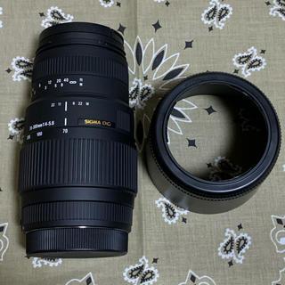 シグマ(SIGMA)のSIGMA 望遠ズームレンズ 70-300mm F4-5.6 DG MACRO(レンズ(ズーム))