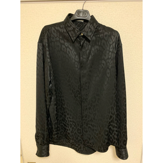 DIOR HOMME - Dior HOMME レオパードシャツ 39