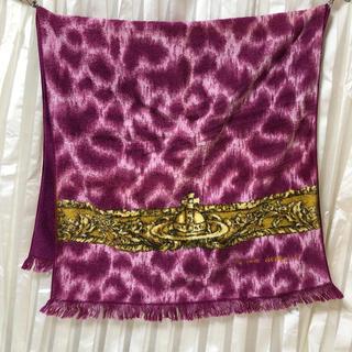 ヴィヴィアンウエストウッド(Vivienne Westwood)のヴィヴィアンウエストウッド レア レオパード ピンク バスタオル(タオル/バス用品)