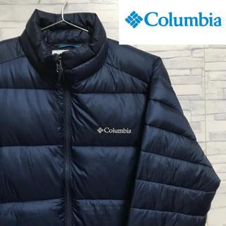 コロンビア(Columbia)のColumbia コロンビア ダウンジャケット 刺繍ロゴ ヌプシ(ダウンジャケット)