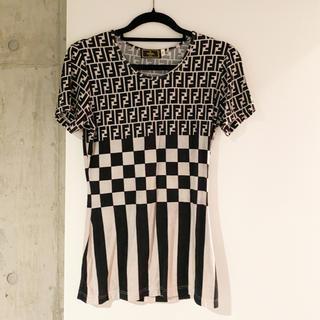 フェンディ(FENDI)のフェンディビンテージtシャツ(Tシャツ(半袖/袖なし))