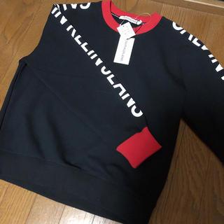 Calvin Klein - 【タグ付き新品】カルバンクライン トレーナー