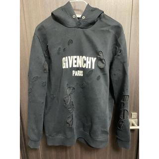 GIVENCHY - GIVENCHY PARIS デストロイド フーディ  XL
