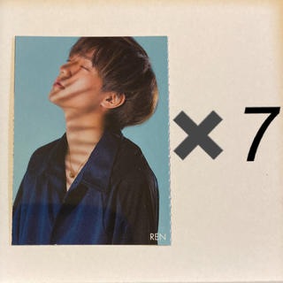Johnny's - 永瀬廉 厚紙カード