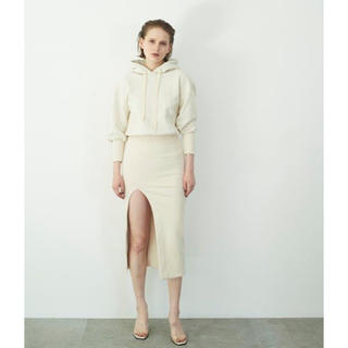 Rosary moon - Rosarymoon  Front Slit Hoodie Dress