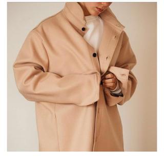 AUBETT wool jersey melton shirts jacket