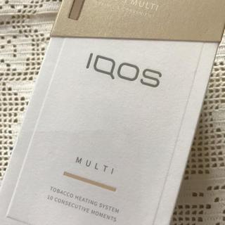 アイコス iQOS3 マルチ フルセット ゴールド 未開封(タバコグッズ)