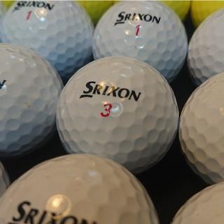 スリクソン(Srixon)の【A級-】´18スリクソン ディスタンス 24球 (黄,白) ロストボール(その他)