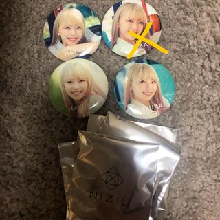 NiziU マユカ 缶バッチ コンプ