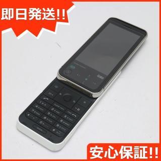 ソニー(SONY)の良品中古 au iida G11 ホワイト 白ロム(携帯電話本体)