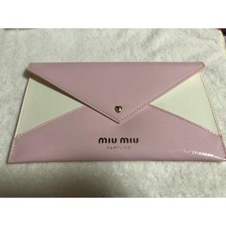 miumiu - 【新品未使用】miumiu ポーチ