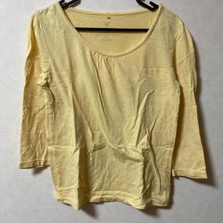 ikka - ロングTシャツ カットソー トップス 7分袖