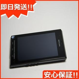 フジツウ(富士通)の美品 au IS04 ブラック 白ロム(スマートフォン本体)