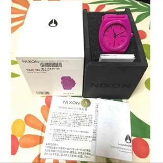 NIXON - ニクソン NIXON タイムテラー ピンク